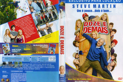 Filme Doze é Demais (Cheaper by The Dozen) DVD Capa