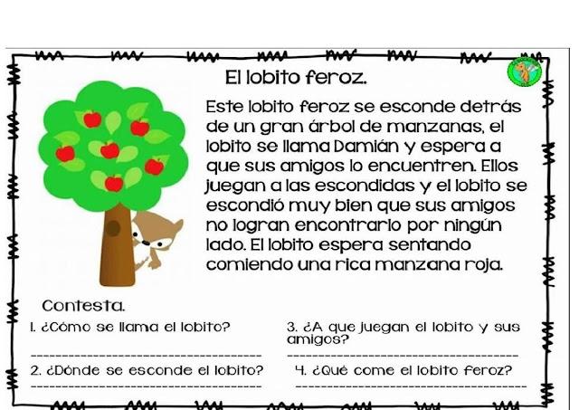 aprender a leer,primaria,preescolar,primero,segundo