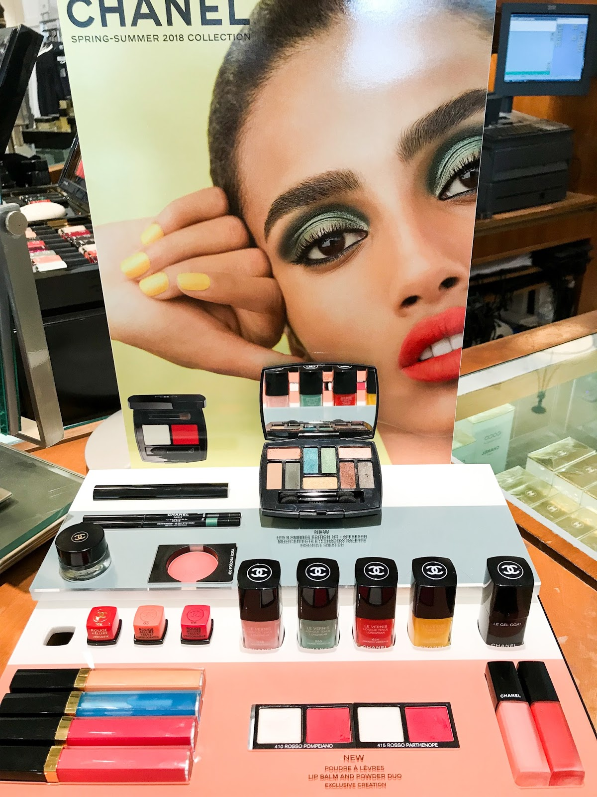 chanel neapolis spring summer 2018 makeup collection swatches review photos