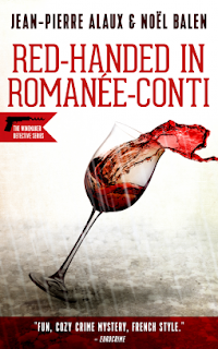 Red-handed in Romanée-Conti cover