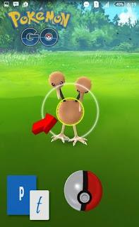 Cara atau Tips yang Benar Melempar Pokeball Game Pokemon GO