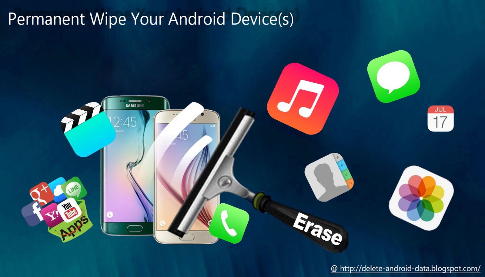 How To Delete And Erase Your Smartphone Data Securely Before Selling Your  Iphone, Android Phone