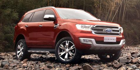 Ford Everest SUV đẳng cấp hiện đại phiên bản mới nhất