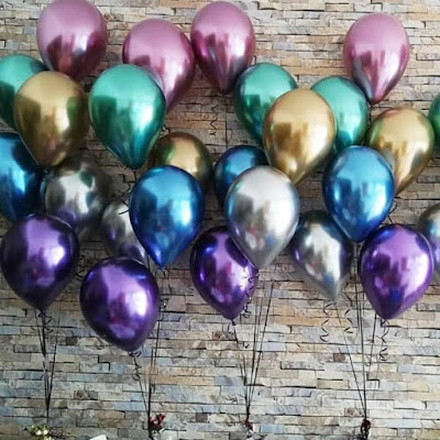 Balon Latex Chrome