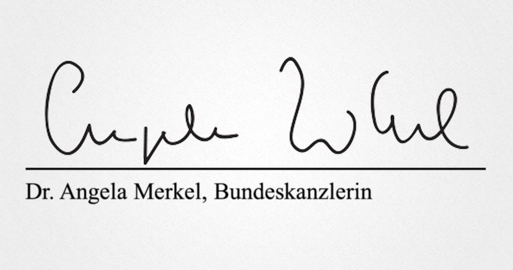 """Heimlicher Herrscher Deutschlands? Sämtliche Regierungsbeschlüsse von """"Cuple Whil"""" statt """"Angela Merkel"""" unterschrieben"""