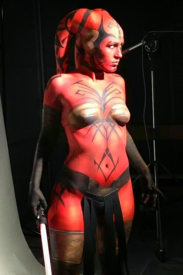 Body painting erotics couples