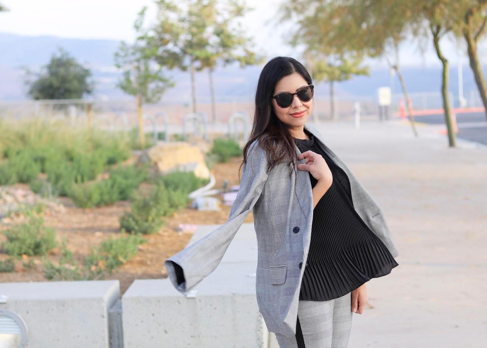 Rachel Roy Collection Suit, San Diego Fashion Blogger, Top San Diego blogger