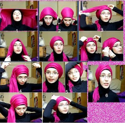Cara Memakai Hijab Paris Style Ala Nabiilabee Asal Rusia
