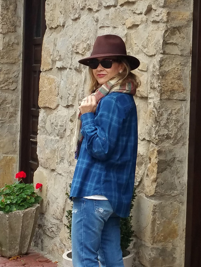 how to wear plaid camisa cuadros
