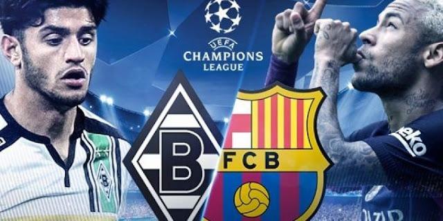 نتيجة مباراة برشلونة وبوروسيا مونشنغلادباخ