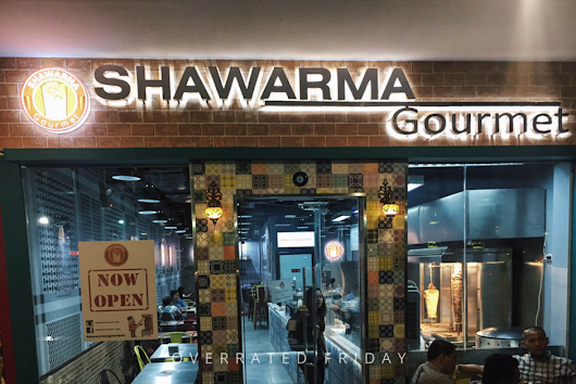 Overrated Friday: Shawarma Gourmet Cebu: A Taste OF Authentic Levantine Street Food