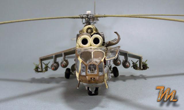Mi-24 A, scale model