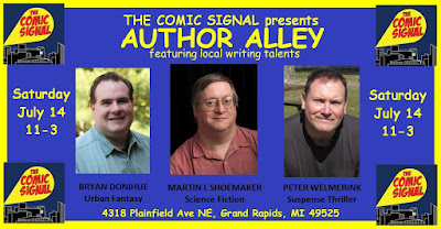 A Brief Q&A with the Authors of The Comic Signal's AUTHOR ALLEY Volume 1