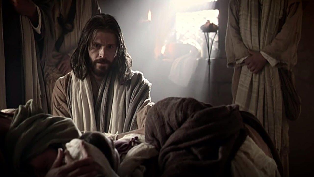 Jesus curando a filha de Jairo
