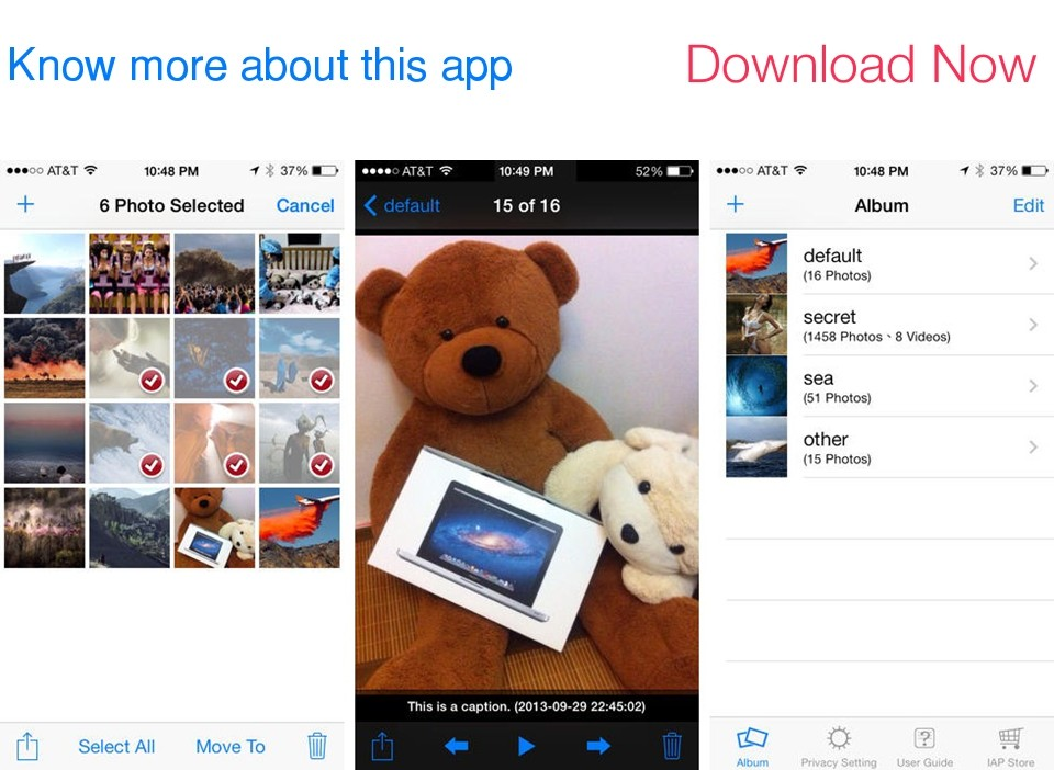 Lock Photos: protect photos and videos hidden from other eyes