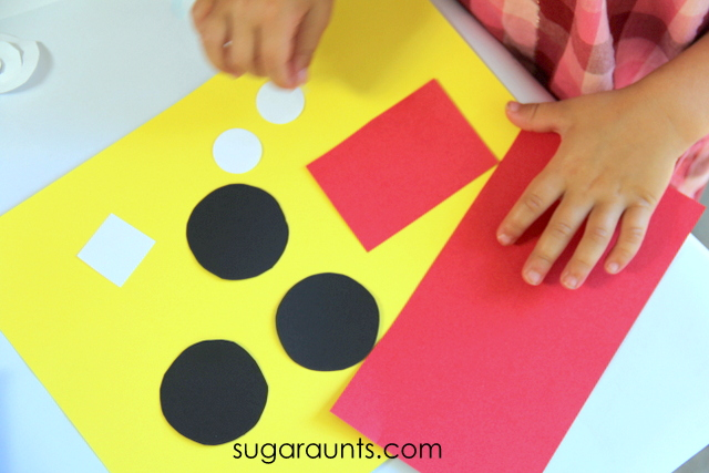 Rectangle Craft For Preschool