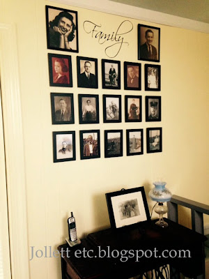 Family Wall 2015  http://jollettetc.blogspot.com