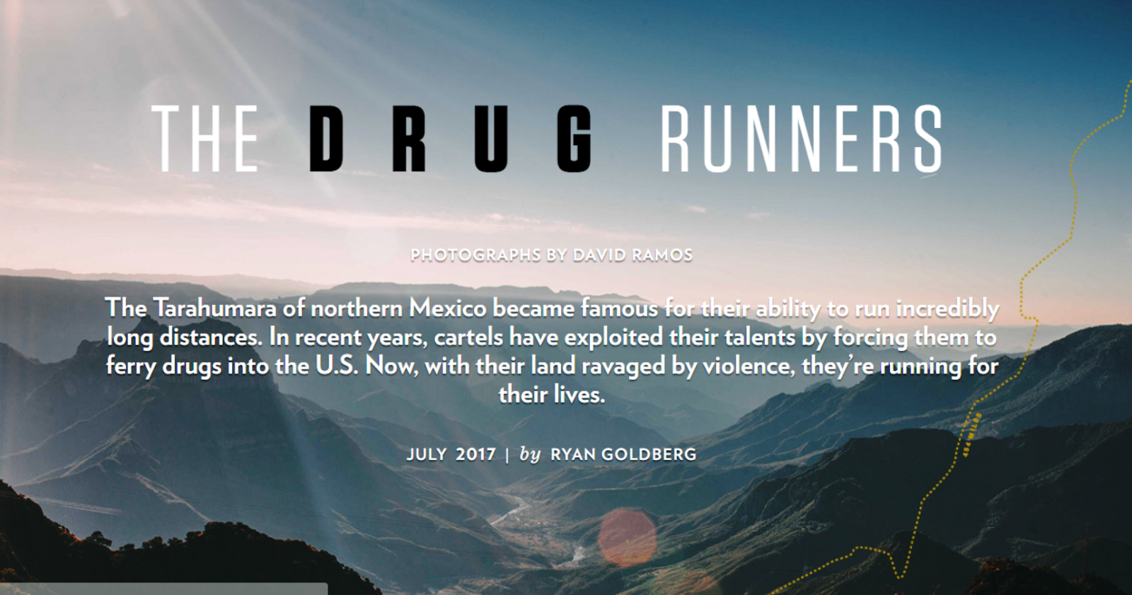 Siskiyoukid for borderland beat republished from texas monthly by ryan goldberg photographs by david ramos