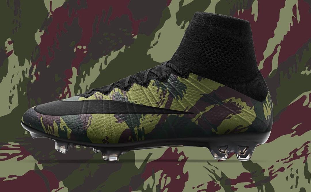 Nike Tiempo Camouflage