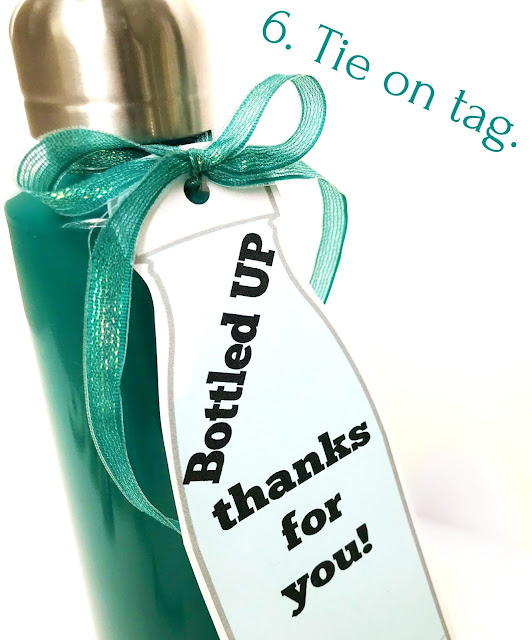 Water Bottle Gift for teachers-grads-dads-anyone!