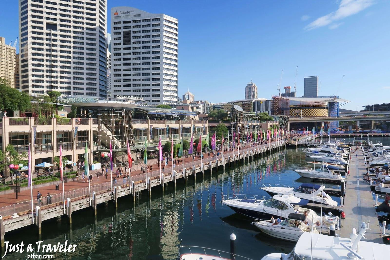 雪梨-景點-推薦-達令港-情人港-旅遊-自由行-澳洲-Sydney-Darling-Harbour-Travel-Australia