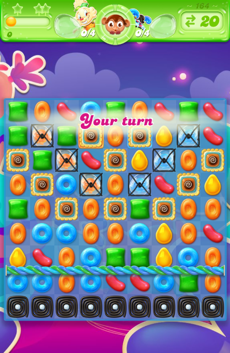 Candy Crush Jelly Saga 164