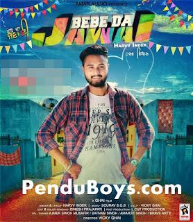 Bebe Da Jawai Harvv Inder Download mp3 Song