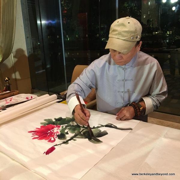 artist in Wenzhou, China