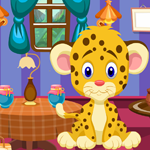 Play Games4King Funny Leopard …