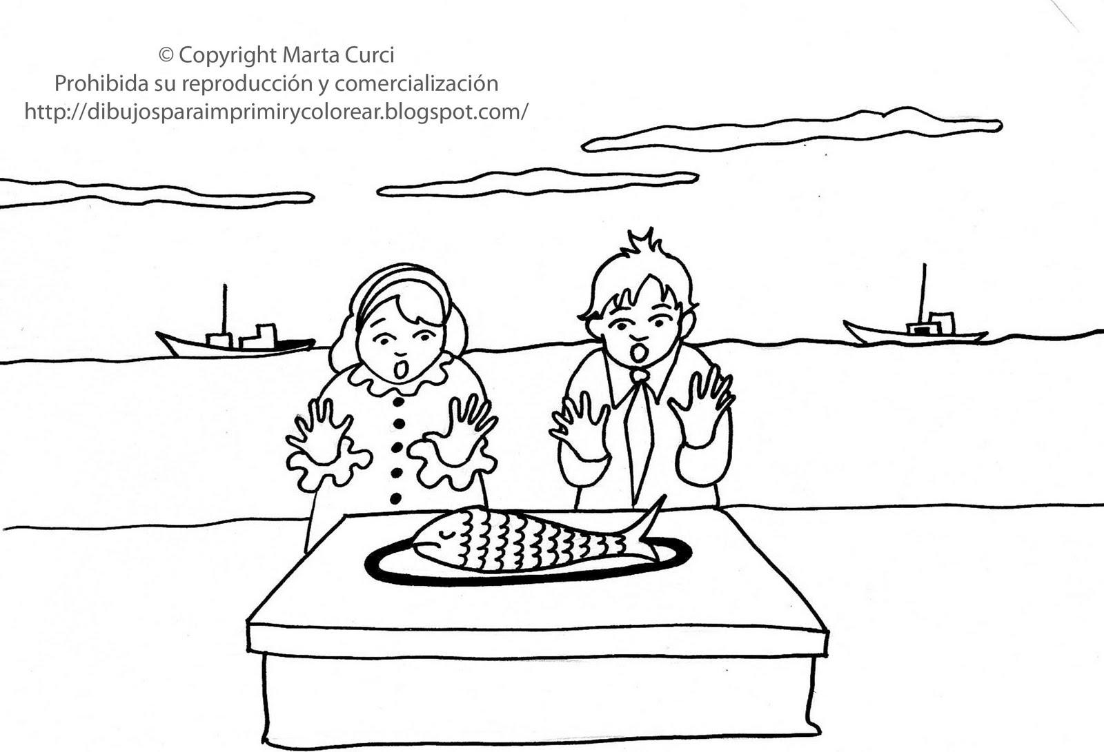 Dibujos Para Colorear Ninos Comiendo: Dibujos Para Imprimir Y Colorear Gratis Para Niños: Dibujo
