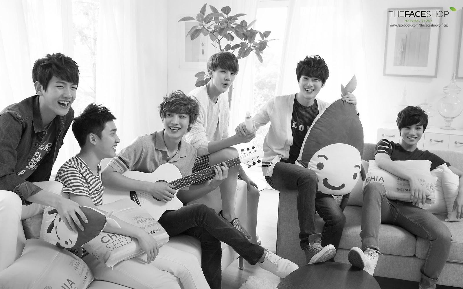 Morning Deer Initially, exo came with 12 members; morning deer