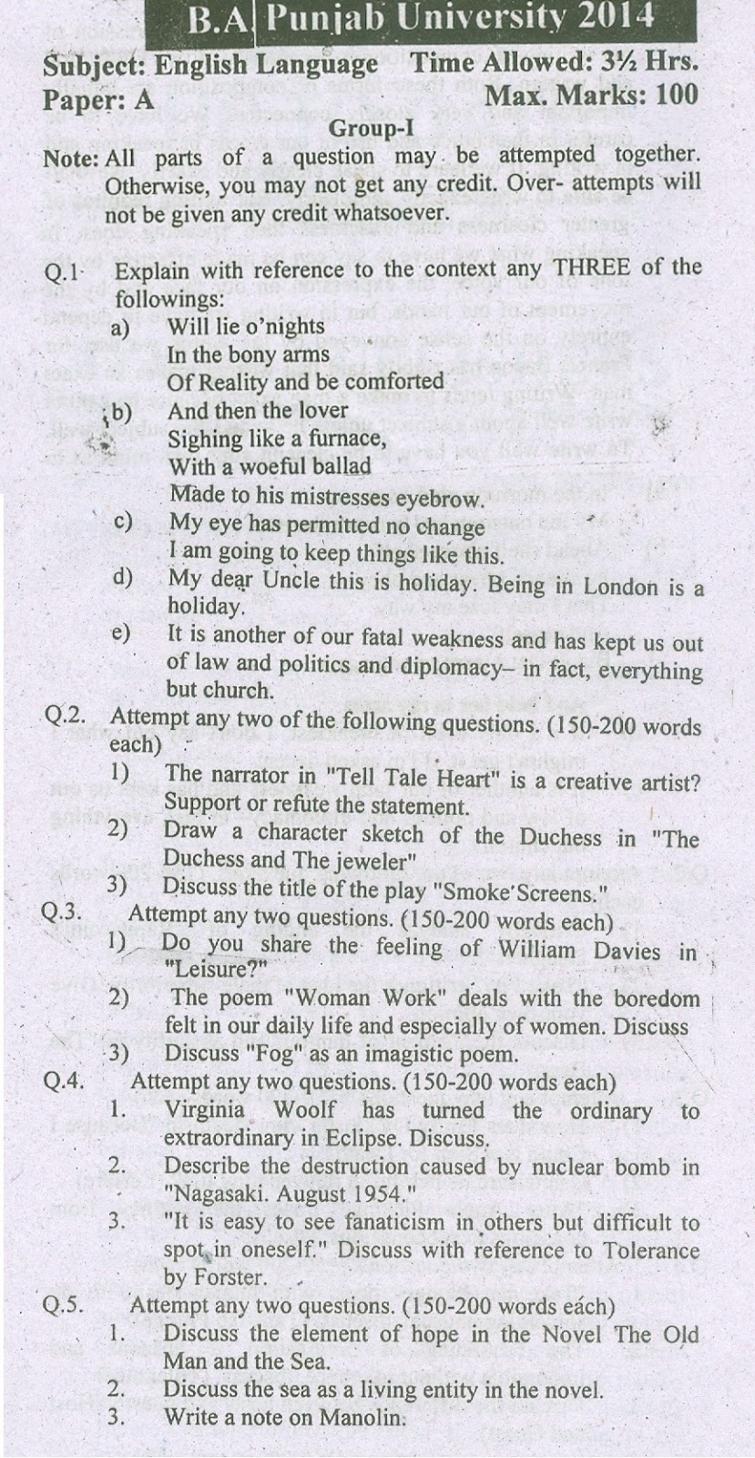 Analysis of The Garden by Ezra Pound - BA English Notes