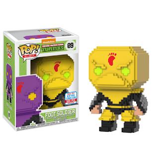 Pop! 8-Bit: TMNT – Yellow Foot Soldier (500pc LE)