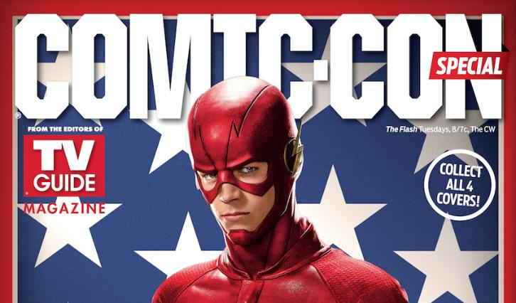 TV Guide Comic-Con 2016 Covers