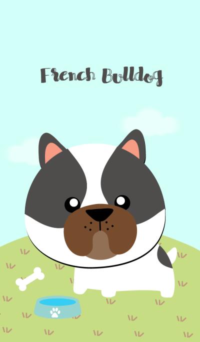 Cute french Bulldog Theme
