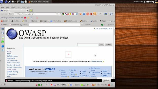Conheça a distribuição OWASP Mantra-OS, uma distribuição com foco em testes de segurança!