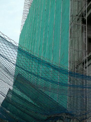 Used Safety Nets For Building Construction Project