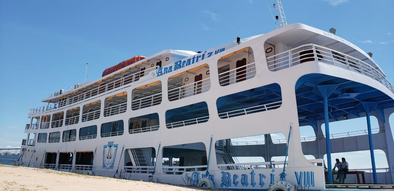 Ferry boat para até 800 passageiros fará rota Belém-Santarém; inaugura hoje