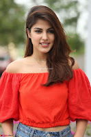 Rhea Chakraborty in Red Crop Top and Denim Shorts Spicy Pics ~  Exclusive 153.JPG