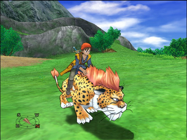 Dragon Quest VIII Journey of the Cursed King PS2 GAME ISO Gameplay 1