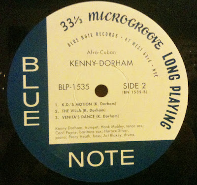 Scorpio Blue Note Label With average to sub par sound