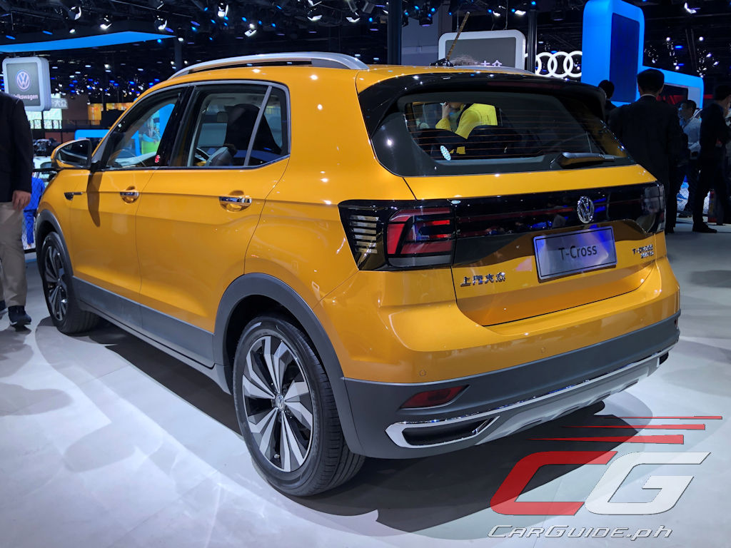 Torque Converter Prices >> Here's a Closer Look at the 2020 Volkswagen T-Cross (w/ 13 Photos) | Philippine Car News, Car ...