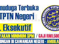 TEMUDUGA TERBUKA DI PTPTN CAWANGAN NEGERI - MINIMUM SPM  /GAJI RM1,500.00++