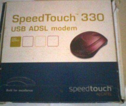 driver modem thomson speedtouch 330