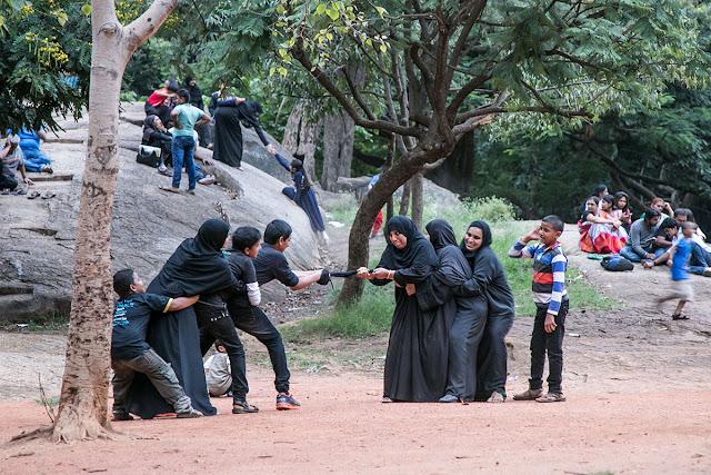 women india burkha playing bangalore