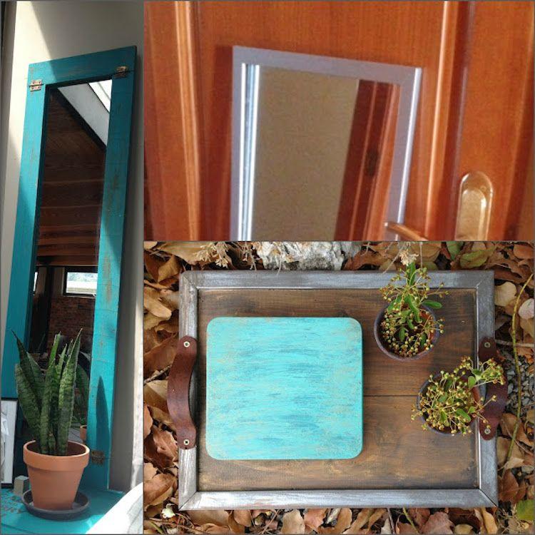 Puerta espejo DIY