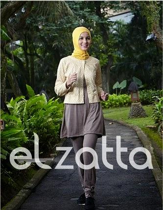 Trend Model Baju Muslim Senam Terpopuler