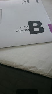 General Election special postal voting envelope.