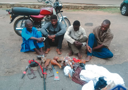 ritualists kill cashew trader