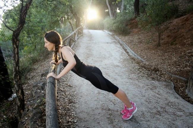 Gym wear: Marie Claire Benefit